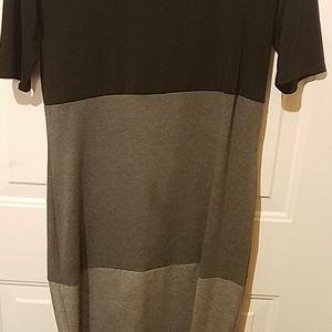 LuLaRoe Dresses - Lularoe medium black and gray Julia